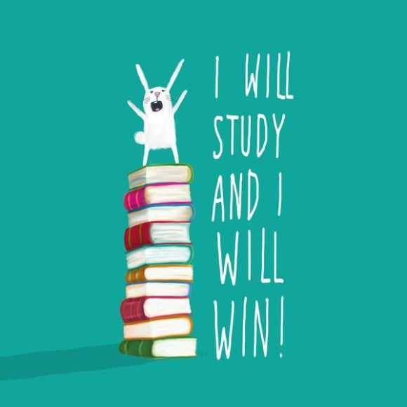 Image result for i will study and i will win