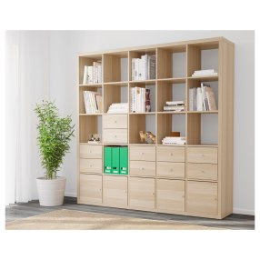 kallax-shelving-unit-with-10-inserts-white-stained-oak-effect__0480310_pe618892_s44
