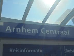 Eindpunt: station Arnhem Centraal