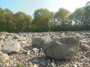 Stenenpark bij het Hunebedcentrum