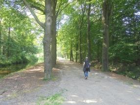Ik aan de wandel