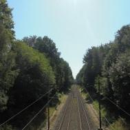 Spoorlijn bij Oosterbeek