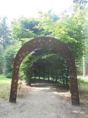 Doolfhof in het Baarnse Bos